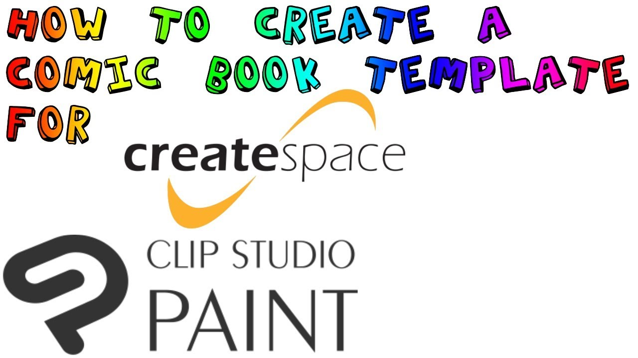 clip studio how to create a comic book template for createspace youtube. Black Bedroom Furniture Sets. Home Design Ideas
