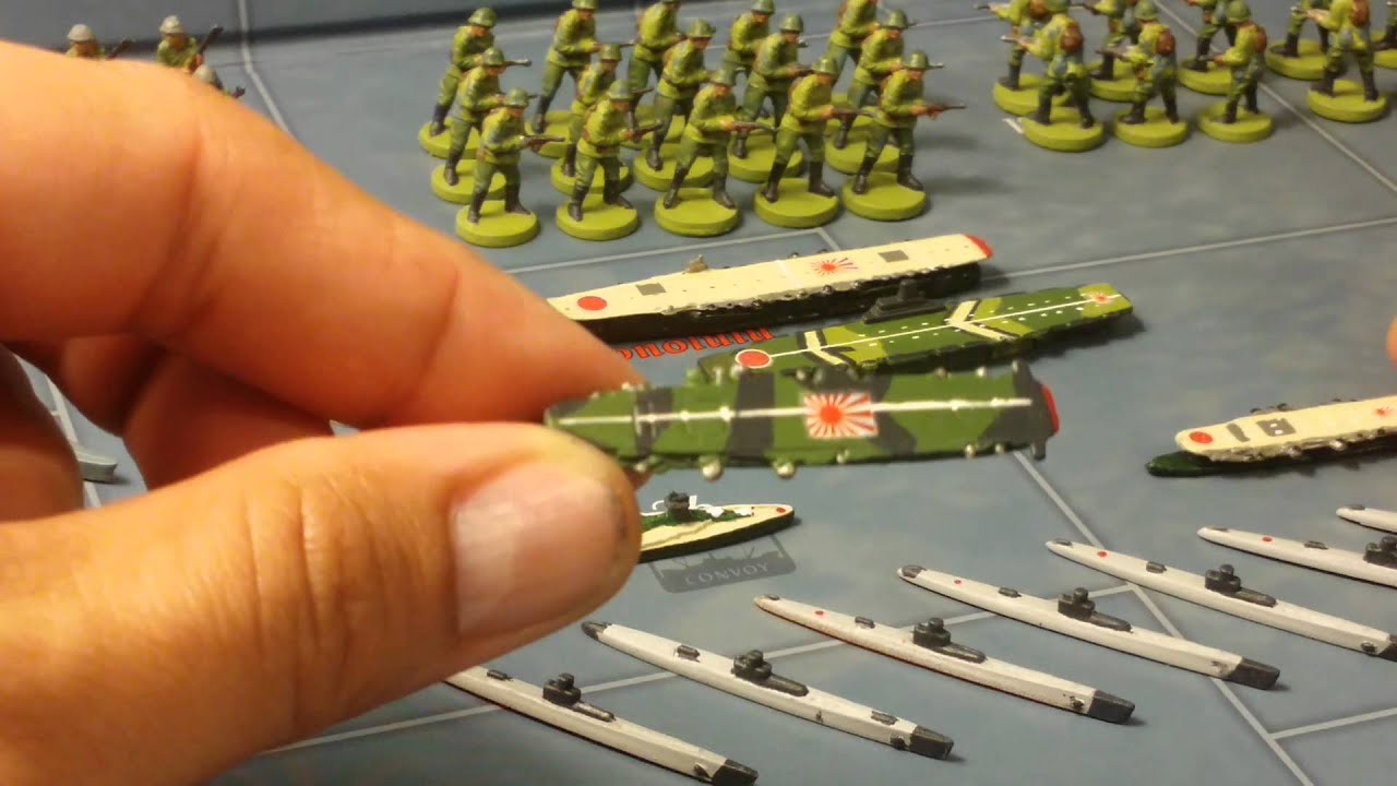 Basing And Painting   Modern Ships