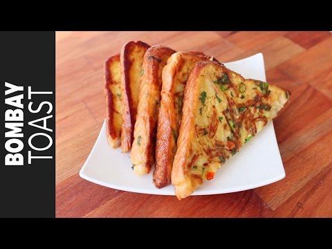 বোম্বে টোস্ট | Bangladeshi Bombay Toast Recipe | Desi French Toast | How to Make Bombay Toast
