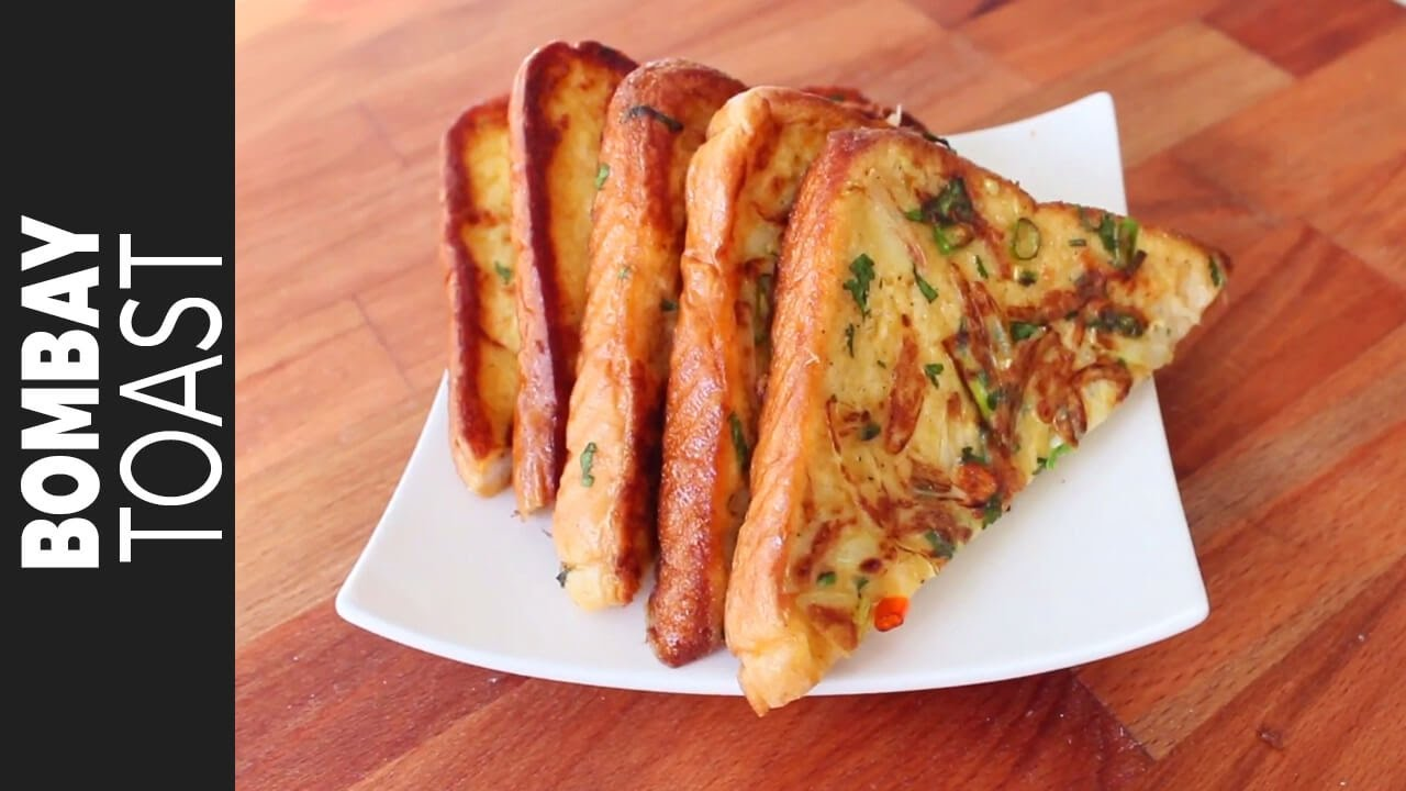 ���োম্বে ���োস্ট  Bangladeshi Bombay Toast Recipe  Desi French Toast  How To  Make Bombay Toast