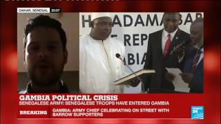 Gambia   we fear that Jammeh might revert back even more aggressively