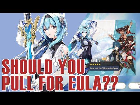 SHOULD YOU ROLL FOR EULA!! 5 Reasons Why Eula Is Waifu and You Should Get Her // Genshin Impact