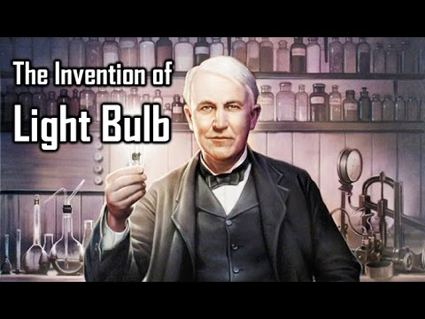 The Invention Of Light Bulb