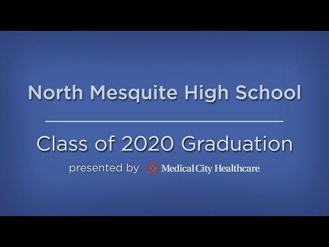 North Mesquite High School's 2020 Graduation Ceremony