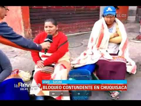 Una semana de movilizaciones en Sucre impiden que las personas puedan viajar