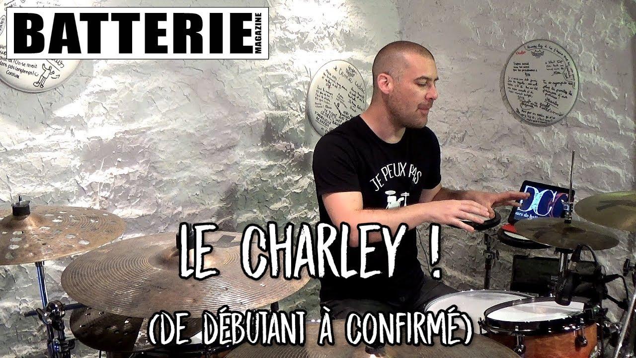 Cours de batterie : Le charley ! (de débutant à confirmé)