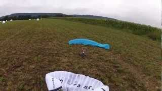 Rc paraglider very funny sport
