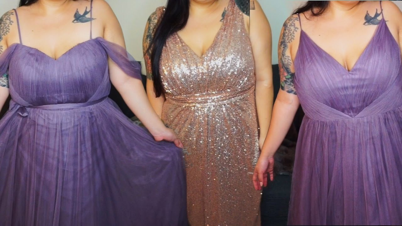 Plus Size Bridesmaid Dress Try-ON Feat. Revelry