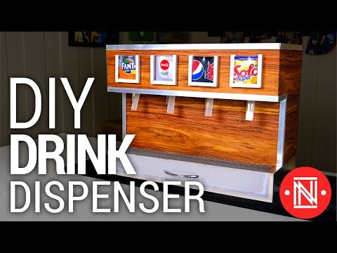 DIY SODA DISPENSER - Awesome for parties!
