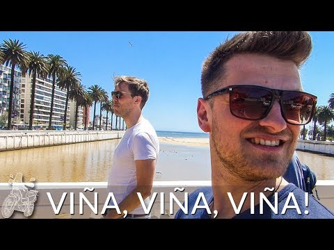 THIS IS VIÑA DEL MAR CHILE, CHILEAN CITY ON THE COAST