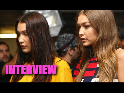 Gigi Hadid: Bella Steals All My Clothes! - INTERVIEW