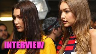 Gigi Hadid: Bella Steals All My Clothes! - INTERVIEW