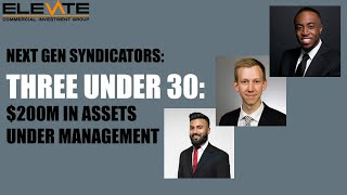 Three Under 30: $200M In Assets Under Management