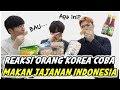 REAKSI ORANG KOREA MAKAN JAJANAN KHAS INDONESIA