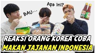 REAKSI ORANG KOREA MAKAN JAJANAN KHAS INDONESIA _인도넨시아 과자를 먹은 한국인의 반응