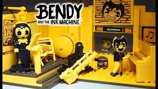 Bendy And The Ink Machine Recording Studio PLAYSET Unboxing Series 2