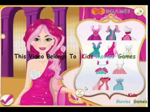Popstar Barbie'e Hairstyles Makeover Game