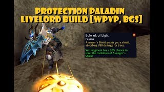 Protection Paladin PvP Livelord Build [WPvP, BGs] [8.1]