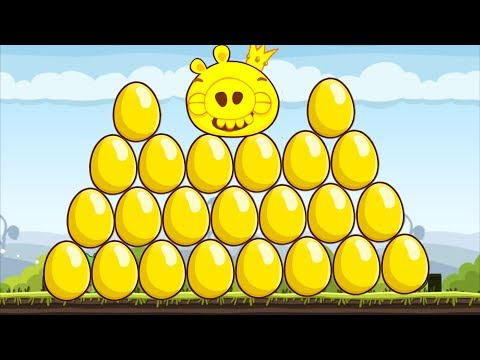 Angry Birds - COMPLETE ALL 33 GOLDEN EGG GOLD STAR!!