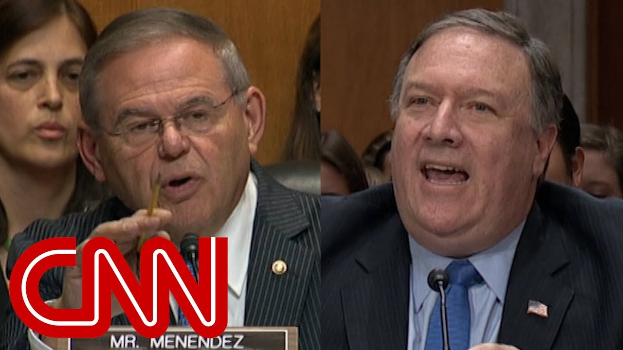 Download Pompeo hearing gets heated over what Trump told Putin
