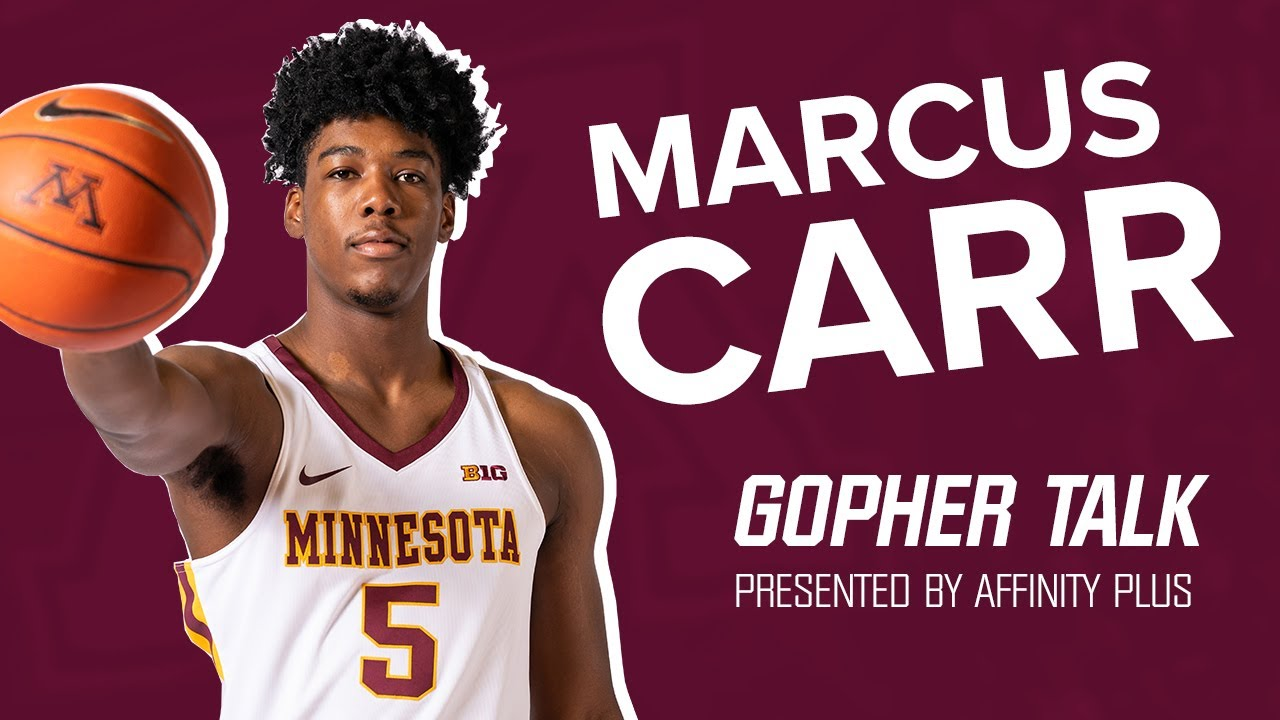 Gopher Talk: Marcus Carr, Men's Basketball (Pres. by Affinity Plus)