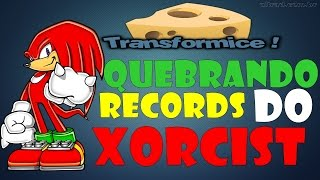 TRANSFORMICE - QUEBRANDO os RECORDS mais DIFÍCEIS do Xorcist