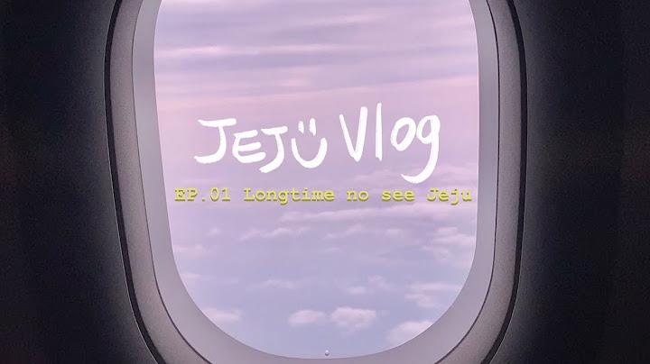 EP.01 Jeju Vlog | 3박4일 뚜벅이여행 | 왕복2만원으로 제주가기 | 출발, 도착까지✈️ (Day1)