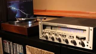 Dire Straits - Love Over Gold - It Never Rains - AR-XA & Marantz 2252B