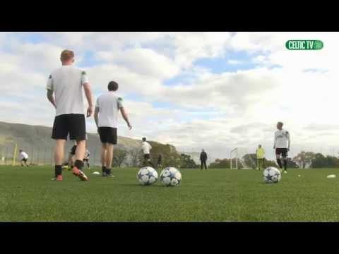 Celtic FC - Development Squad training
