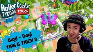 TIPS dan TRICK main RollerCoaster Tycoon Touch - Build your Theme Park screenshot 5