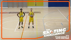 Shooting Challenge: Tyler Dorsey & Nate Wolters, Maccabi FOX Tel Aviv