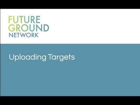 2. Uploading Targets
