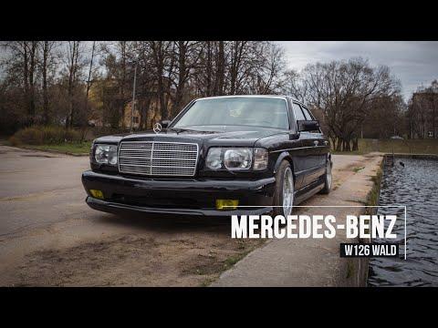 🀄 Бандит в ЯПОНСКОМ стиле: Mercedes-Benz W126 WALD