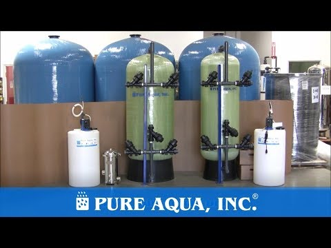 Water Filter Media Oman, 50,000 GPD | www.PureAqua.com