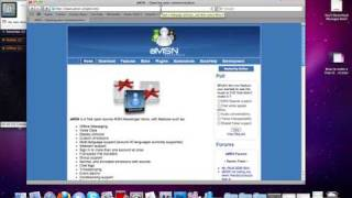 How to do video chat with MSN on mac