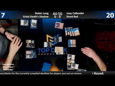 Modern FNM w Comm 2918: Nate Lang Grixis Shadow vs. Joey Callender Skred