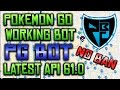 POKEMON GO WORKING BOT (PG BOT) + LATEST API 61.0 + MAC/WINDOWS + MULTIPLE ACCOUNTS