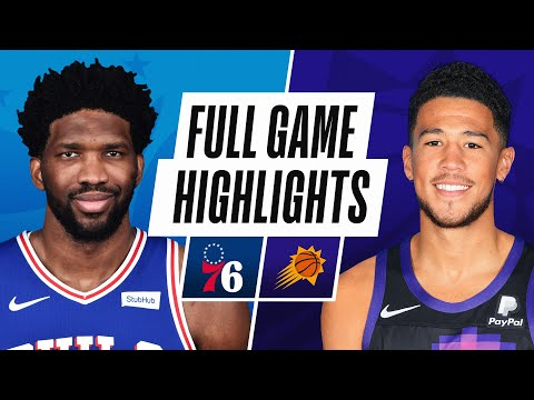 76ERS at SUNS   FULL GAME HIGHLIGHTS   February 13, 2021