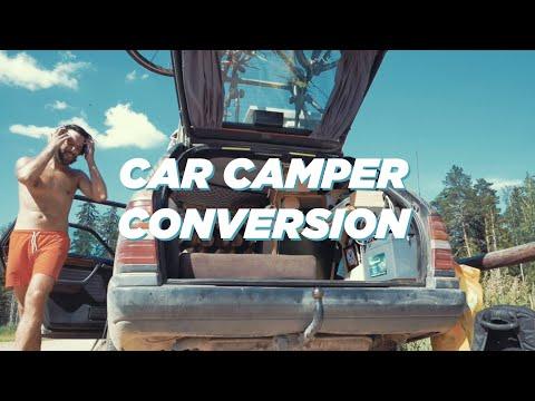 Car Camper Conversion // Mercedes S124 1993 // Lars The Viking