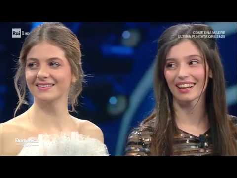 Gaia Girace E Margherita Mazzucco - Domenica In 16/02/2020