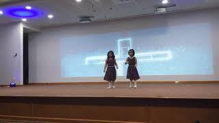 Mele manathe eeshoye dance, kids,2 kids,parish night,cute