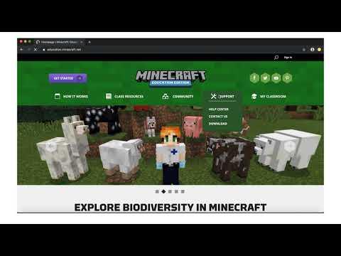 Get Minecraft: Education Edition FREE Through Hwb