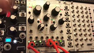 Mutable Instruments Marbles sequencing Rings