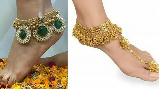 Video Latest Bridal Anklets Design 2018 | Gunghroo Design | Payal Design For Bride | Anklets download MP3, 3GP, MP4, WEBM, AVI, FLV Oktober 2018
