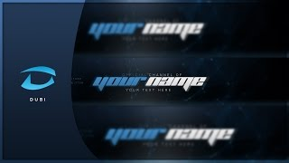 speed art channel art template free gfx by dubi