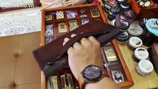 Chiêm ngưỡng mẫu ví dài cầm tay độc đáo lên màu cực đẹp tại Armadino