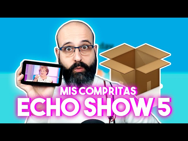 📦 UNBOXING AMAZON ECHO SHOW 5 Y QUITAPELUSAS | La red de Mario