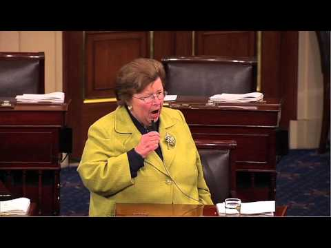 Mikulski Speaks on Need to Move Ahead with Cybersecurity Legislation