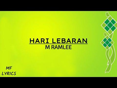 M Ramlee - Hari Lebaran (Lirik)