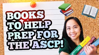 Books to help prep for the ASCP